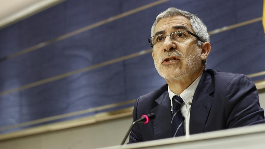 """IU cree que hay que hacer un """"homenaje"""" al juez Castro por haberse """"impuesto"""" a todo el aparato del Estado"""