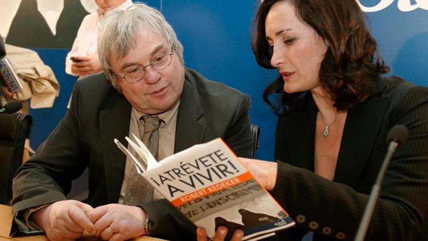 Edurne Uriarte, en la presentación de un libro editado por la FAES en 2008. Foto: Ángel Díaz / Efe.