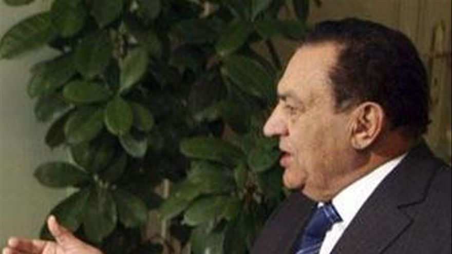 Presidente De Egipto, Hosni Mubarak