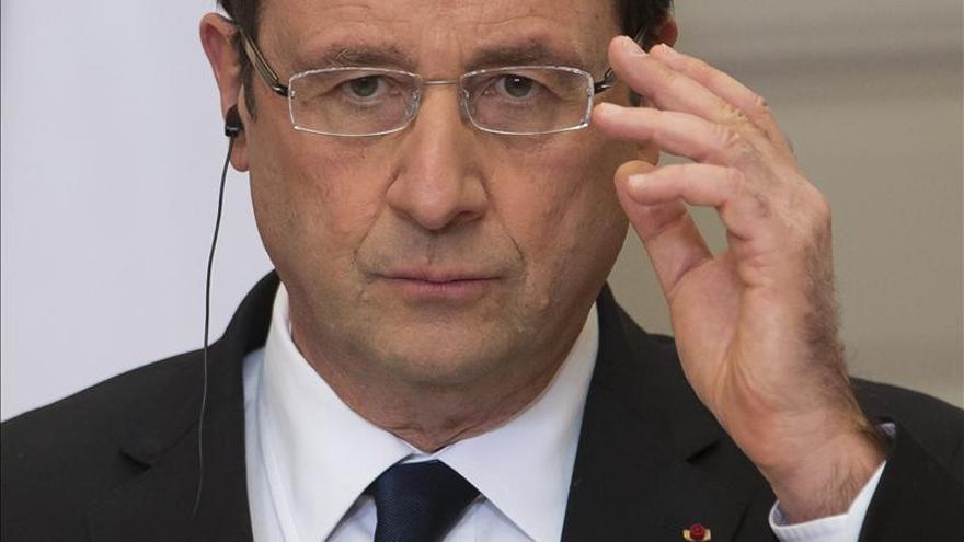 Hollande considera que Argelia dio la respuesta más adecuada porque no se podía negociar