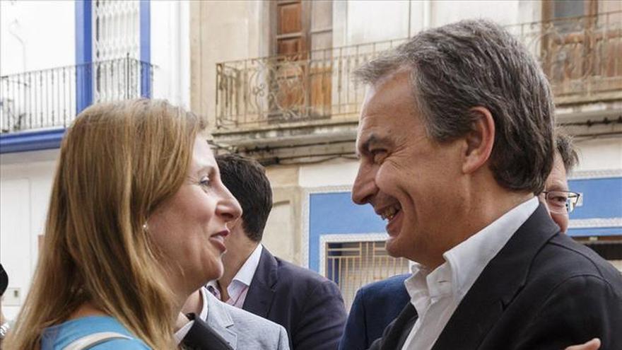 """Zapatero cree que al final """"la razón democrática se impondrá"""" en Andalucía"""
