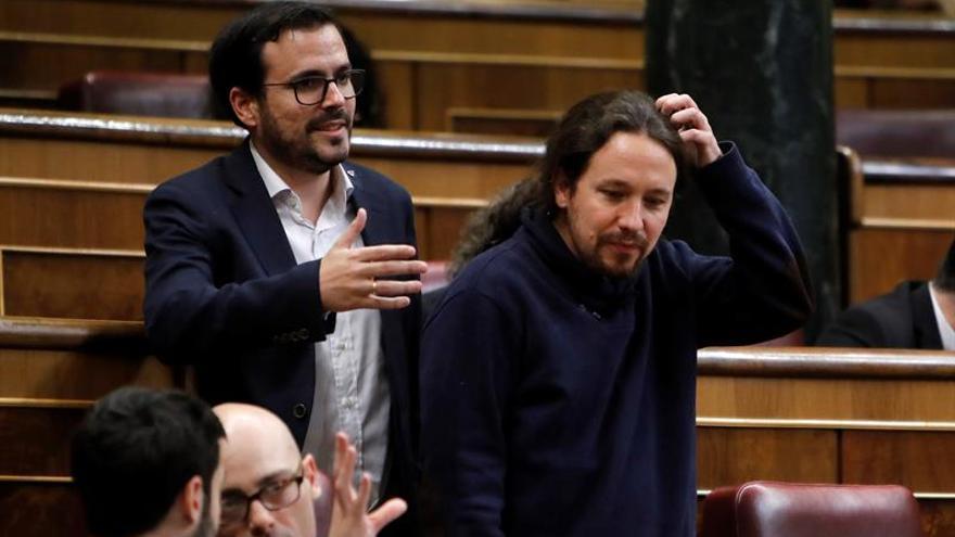 Iglesias y Garzón reafirman su voluntad de ir juntos a las elecciones