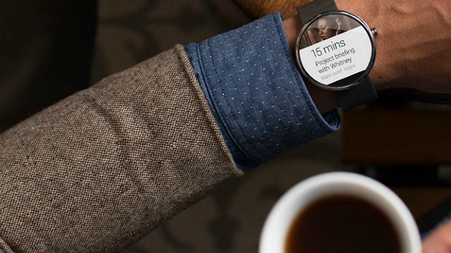 El 'smartwatch' de Motorola, el Moto 360 (Foto: Motorola)