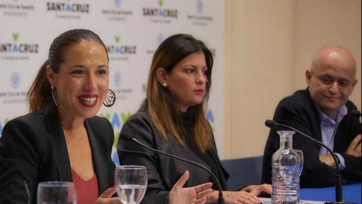 Patricia Hernández, Ramón Trujillo y Matilde Zambudio