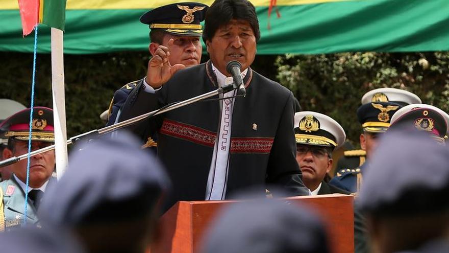 Evo Morales carga contra quienes vetan a Maduro al dictado de Trump