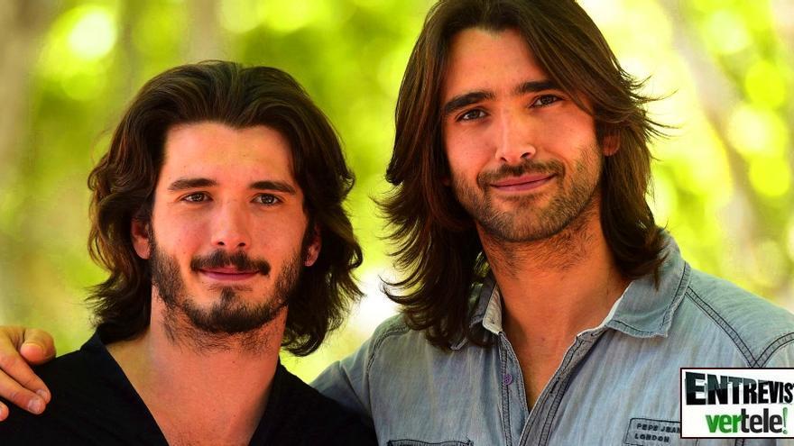 Aitor Luna y Yon González, dos hermanos en dos superseries: 'Mis padres están muy contentos'
