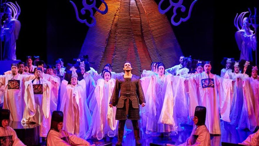 El tenor Andeka Gorrotxategi se estrena con Turandot en Australia