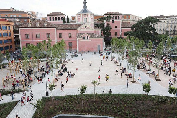 Panorámica de los nuevos Jardines del Arquitecto Ribera   Fotografía: Ayuntamiento de Madrid