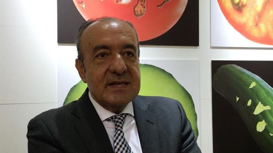 El presidente de la Federación de Productores Hortofrutícolas de la provincia de Las Palmas José Juan Bonny.