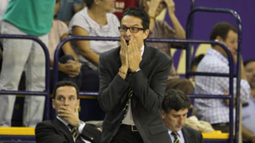 Pedro Martínez, entrenador del CB Gran Canaria.