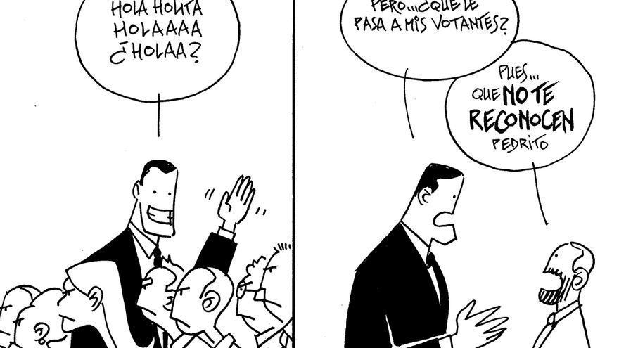 VIÑETA | Reconocer a Pedro Sánchez