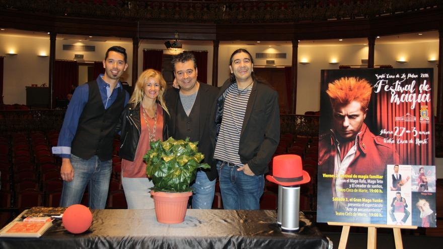 Presentación de la nueva edición del Festival de Magia de Santa Cruz de La Palma.