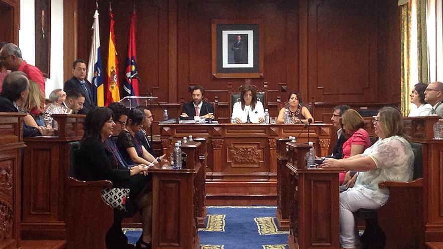 Pleno de investidura del Ayuntamiento grancanario de Telde. (Canarias Ahora).