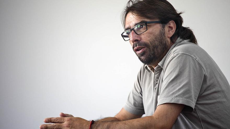 Camil Ros, partidario de la movilización puntual y general contra la reforma laboral  foto: ROBERT BONET
