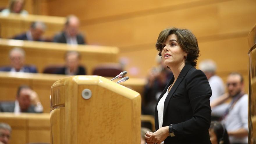 La Comisión del 155 del Senado decide el martes cuándo comparecen Santamaría y su número dos sobre Cataluña