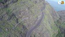 El primer tramo de la carretera de La Aldea estará terminado en junio de 2017