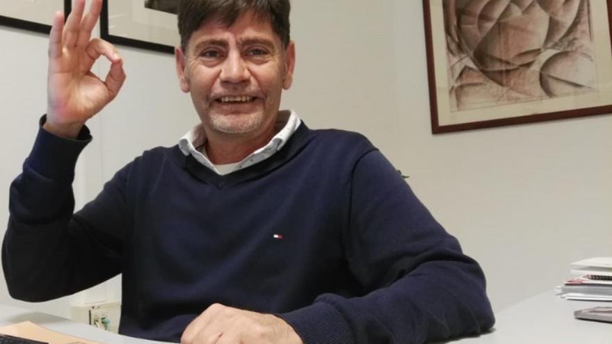 Carmelo León, número 3 del PSOE en Santa Lucía de Tirajana.