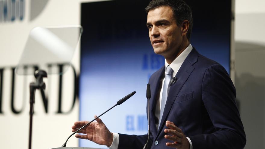 Pedro Sánchez responde a Mas que es él quien está levantando muros