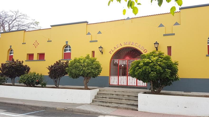 Imagen de archivo del Mercado Municipal de Los Llanos de Aridane.