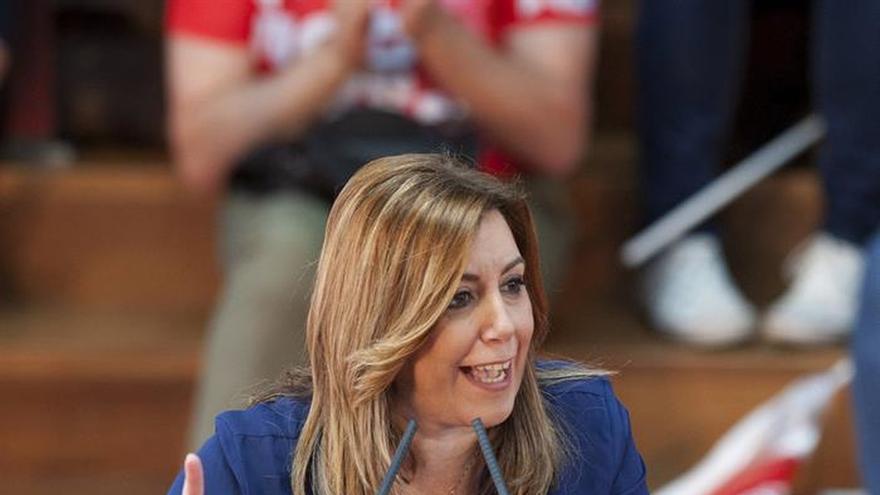 """Díaz afirma que no dejará que """"nadie le diga al PSOE lo que tiene que hacer"""""""