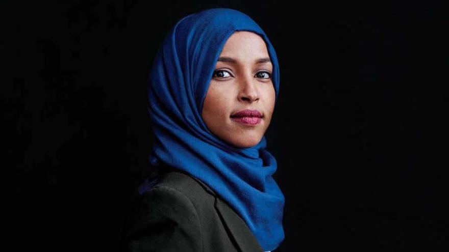 Ilhan Omar, candidata a la Cámara de Representantes por Minnesota.