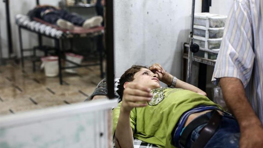 Unicef denuncia que hay 96 niños muertos y otros 223 heridos en Alepo desde el viernes