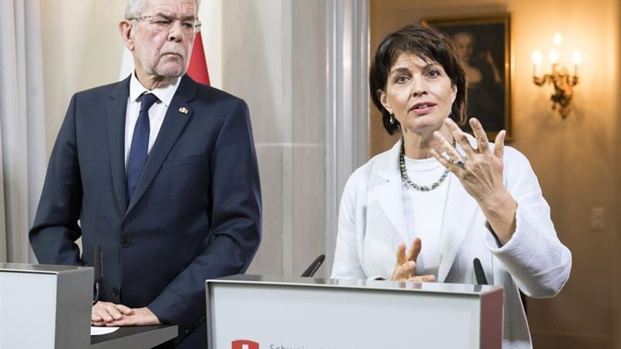 El presidente de Austria confía en una solución entre UE y Suiza en inmigración