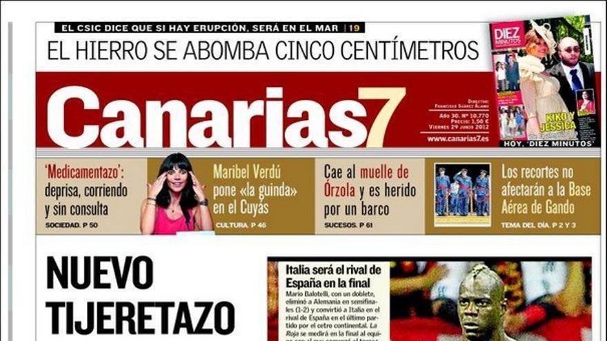 De las portadas del día (29/06/2012) #2