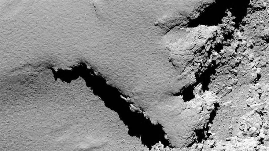 La sonda Rosetta desciende hacia el cometa 67P y se desconectará