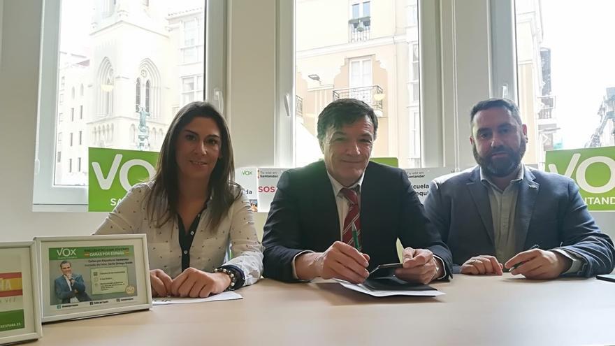 Vox creará en el Ayuntamiento de Santander una oficina para el control y reducción del gasto
