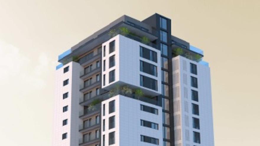 Así será el nuevo edificio de vivienda social