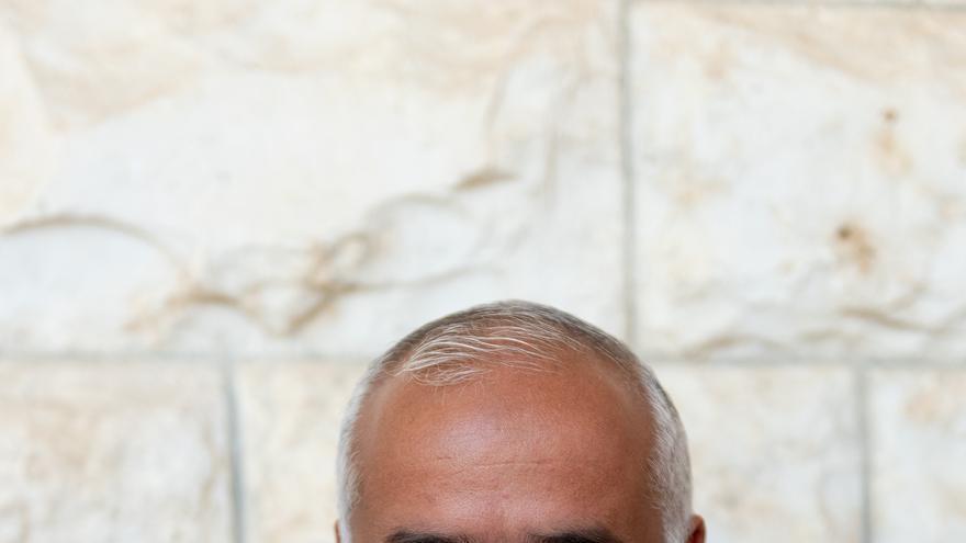 Dr. Belal, profesor de veterinaria en la Universidad de Al Najah, en Nablus