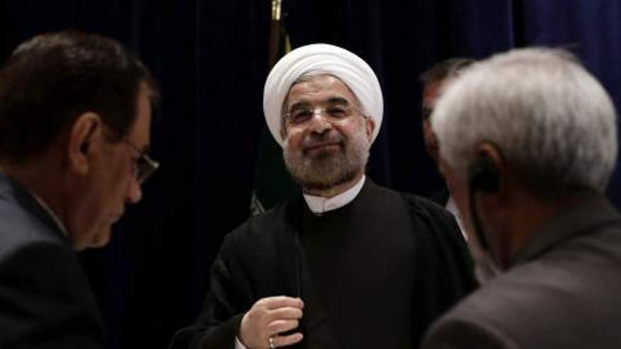 El presidente de Irán, Hassan Rohaní (Efe)