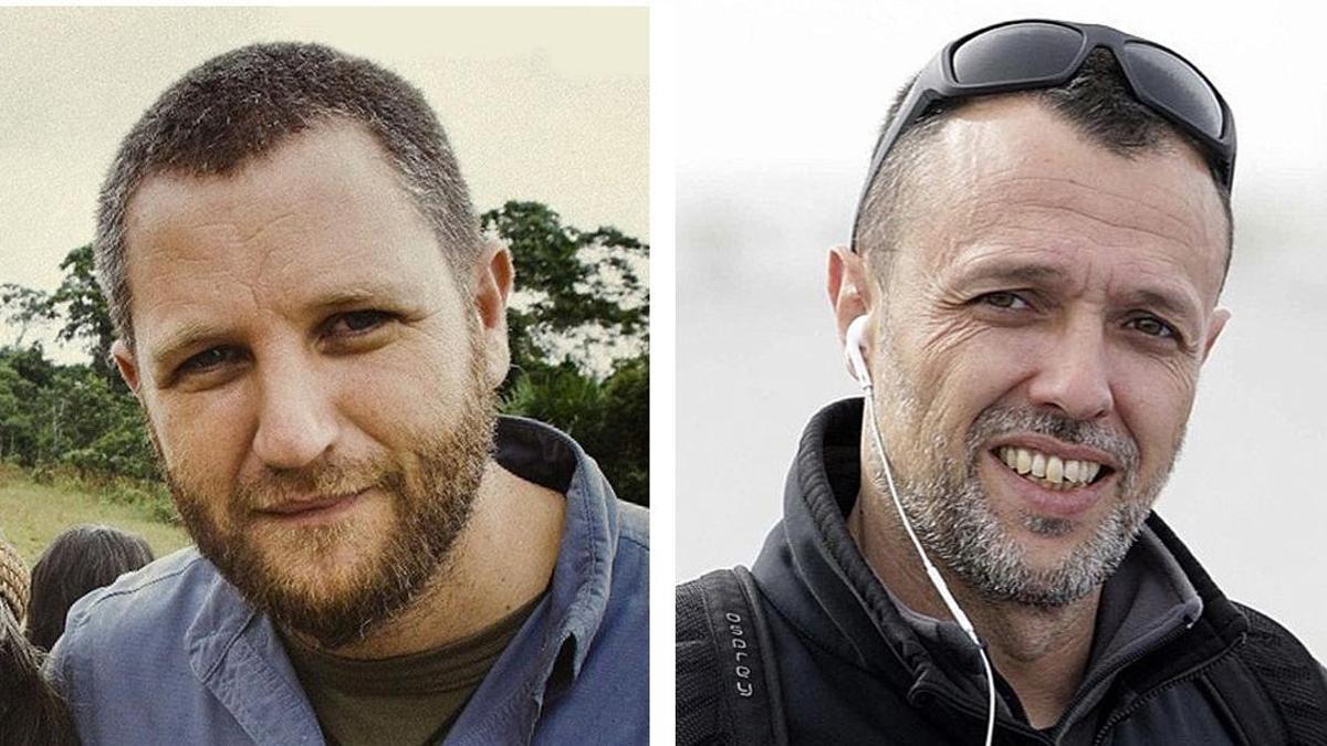 David Beriain y Roberto Fraile.