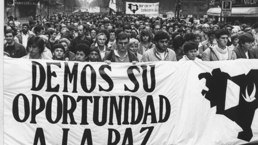 Manifestación Gesto por la Paz