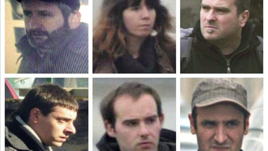 Prorrogada la detención de los 6 presuntos etarras antes de su envío a París