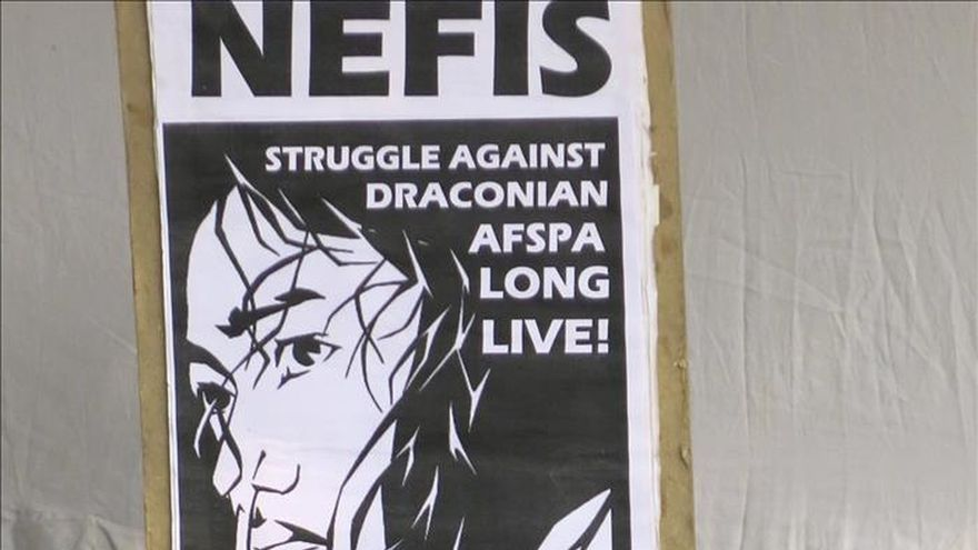 La activista india Irom Sharmila cumple 15 años en huelga de hambre