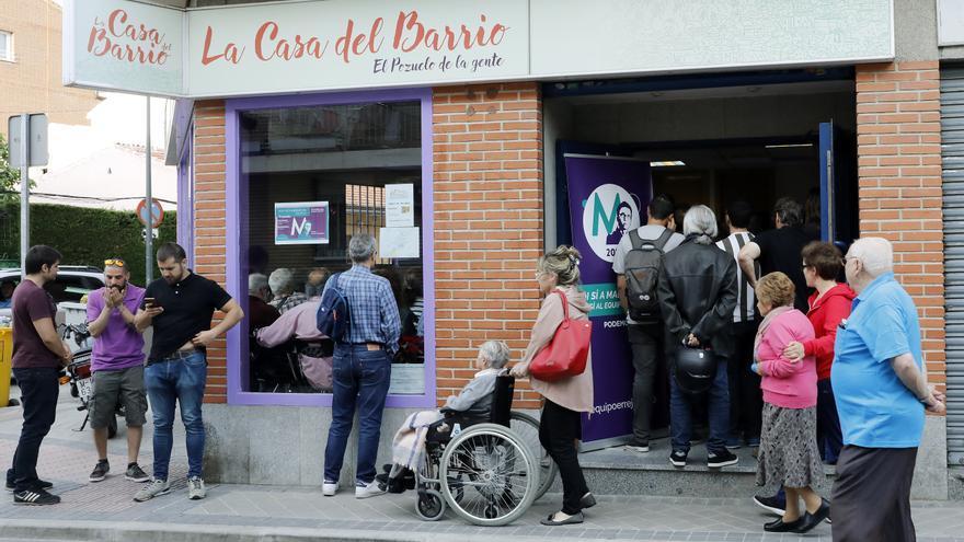 'La Casa del Barrio', local de Somos Pozuelo que acogió el acto de Íñigo Errejón.