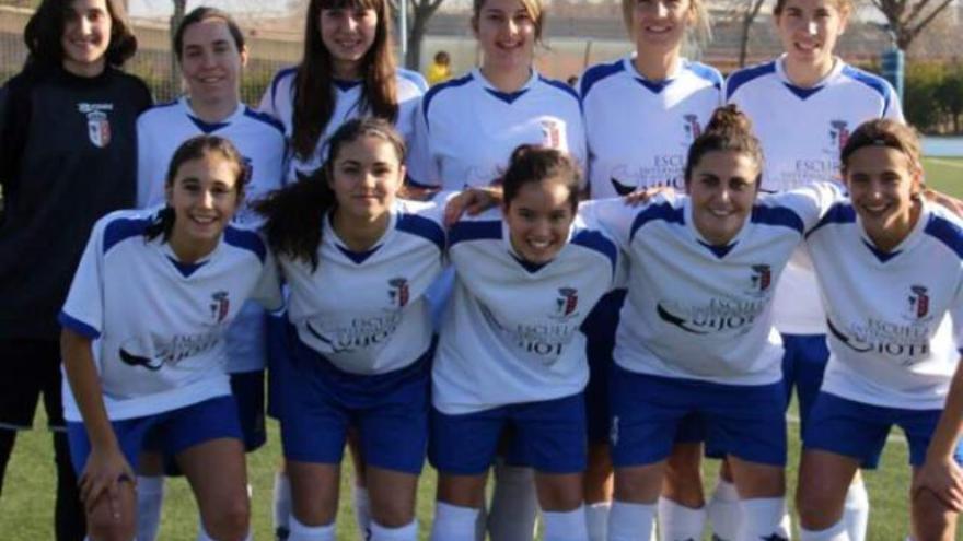 Jugadoras del Femenino Albacete B / Facebook