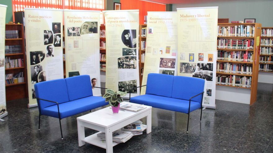 En la imagen, Biblioteca Municipal de Los Llanos de Aridane.