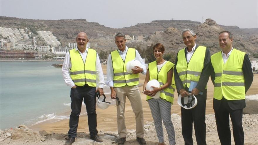 Inauguración de la Playa de Tauro