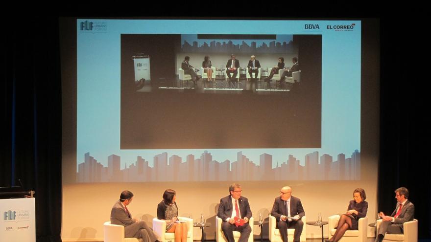 Alcaldes de Santander, Bilbao, San Sebastián, Vitoria y Logroño apuestan por colaborar para afrontar los retos comunes