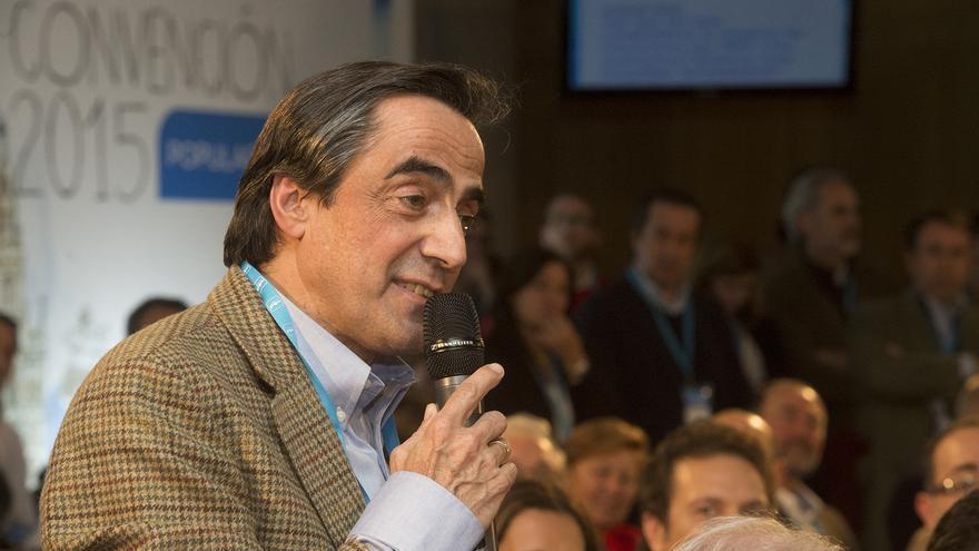 Ildefonso Calderón, diputado autonómico y candidato del PP a la Alcaldía de Torrelavega. | Foto: PP