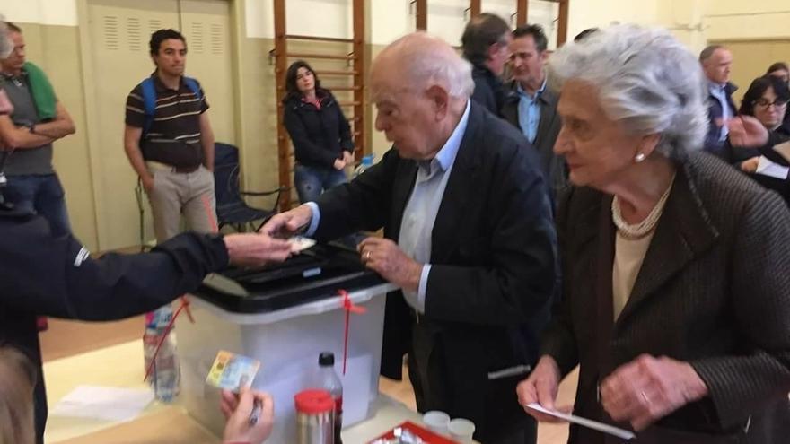 """Jordi Pujol lamenta que """"nadie"""" en España se pregunte qué ha pasado en Cataluña"""