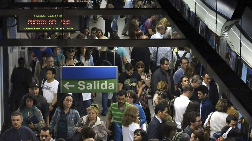 La plantilla de Metro de Madrid inicia esta tarde tres días de paros