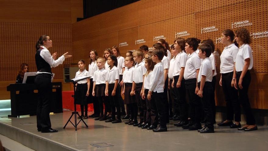 La Coral de Cámara de Pamplona busca nuevas voces para sus coros infantiles