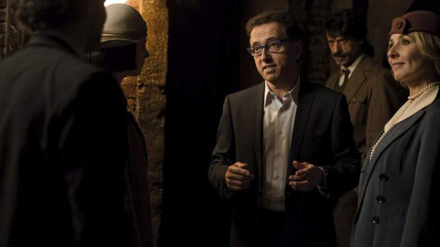 Fotograma de la última temporada de El Ministerio del Tiempo