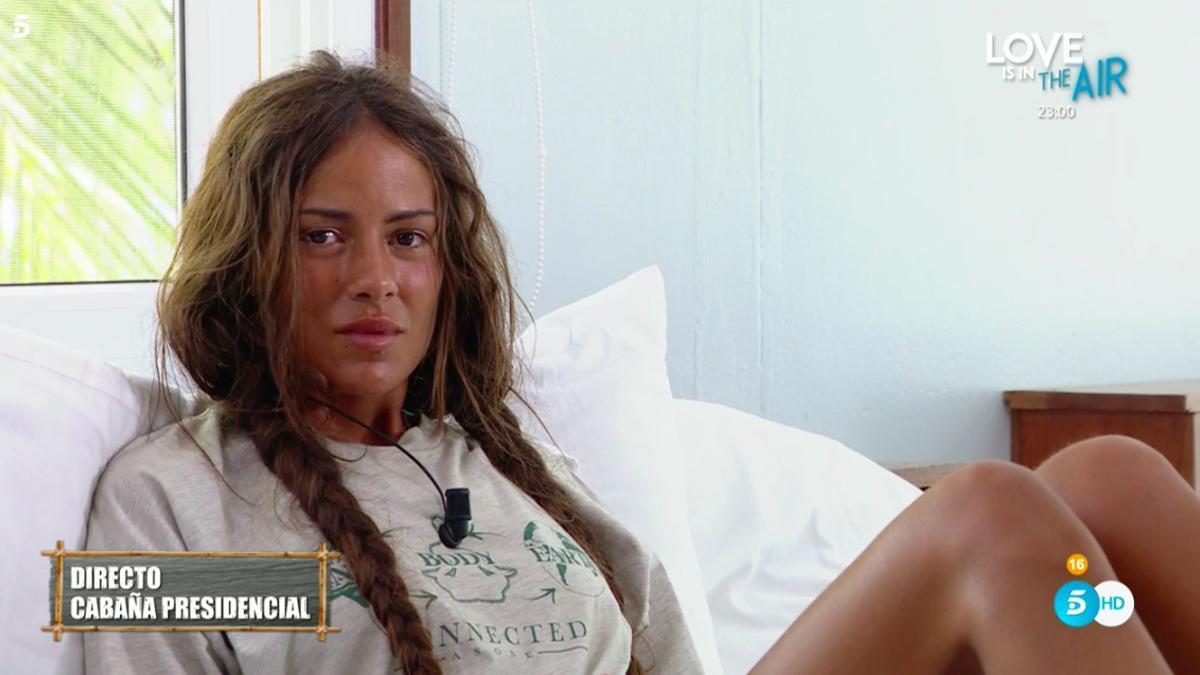Melyssa, en el hotel de 'Supervivientes 2021'