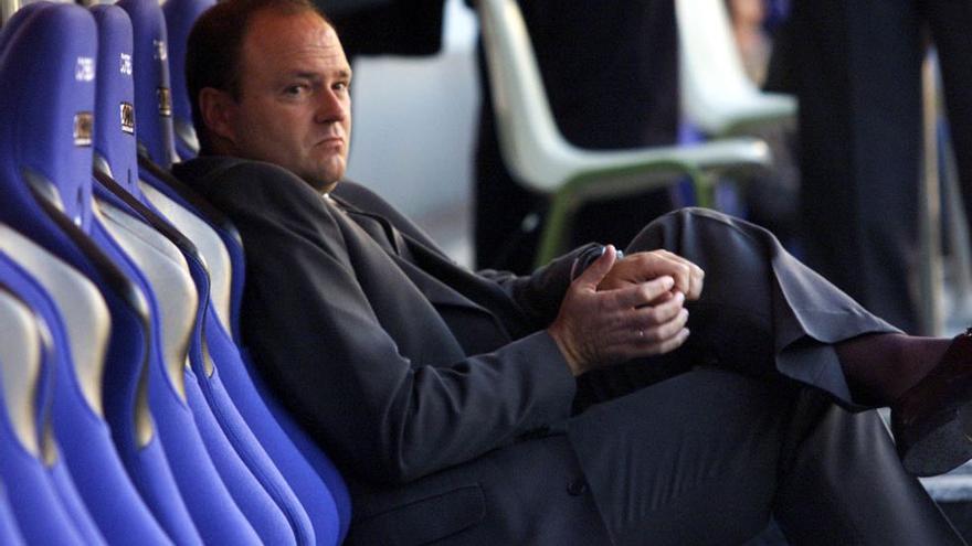 Pepe Mel no tuvo un afortunado paso por el CD Tenerife.