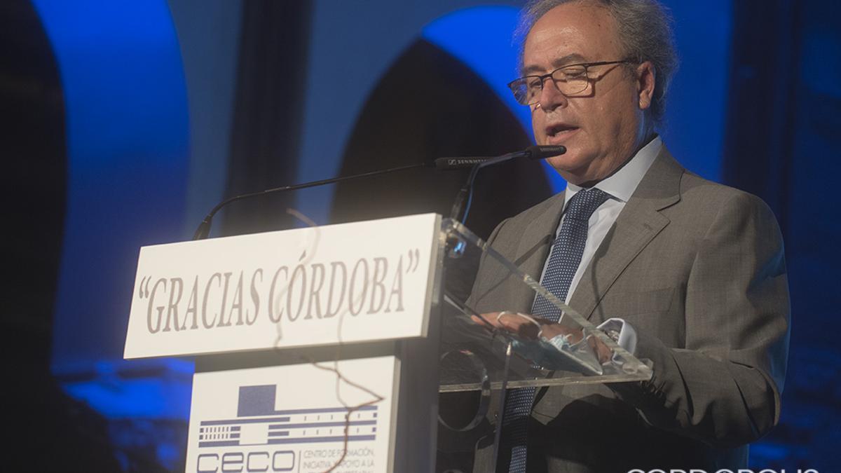 Antonio Díaz, en un acto reciente de CECO